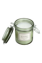 Scented candle in clip-top jar - Dusky green/Bergamot - Home All | H&M GB 2