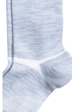 Compression-fit sports socks - Light grey marl - Ladies | H&M 2