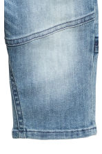 Knee-length denim shorts - Denim blue -  | H&M 5
