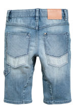 Knee-length denim shorts - Denim blue - Kids | H&M 3
