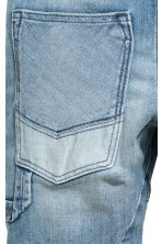 Knee-length denim shorts - Denim blue -  | H&M 4