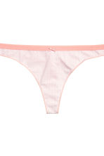3-pack thong briefs - Apricot/Patterned - Ladies | H&M CN 5