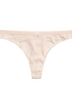3-pack thong briefs - Apricot/Patterned - Ladies | H&M 4