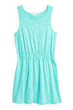 Jersey dress - Turquoise -  | H&M 2