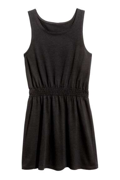Jersey dress - Black - Kids | H&M 1