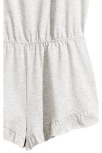 Playsuit - Light grey marl -  | H&M 2