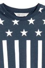 Printed T-shirt - Dark blue/Stars -  | H&M CN 3