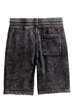 Sweatshirt shorts - Black washed out - Kids | H&M CN 3