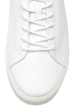 Cotton twill trainers - White - Men | H&M 3