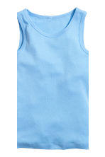 2-pack vest tops - White/Excavator - Kids | H&M 4