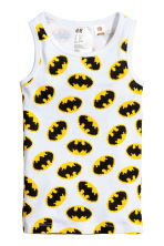 2-pack vest tops - White/Batman - Kids | H&M 2
