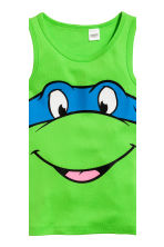 2-pack vest tops - Green/Turtles - Kids | H&M CN 4