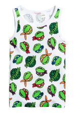 Canotte, 2 pz - Verde/Turtles -  | H&M IT 2