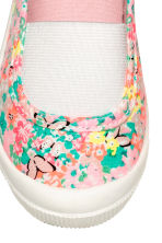 Elasticated trainers - Light pink/Patterned - Kids | H&M CN 3