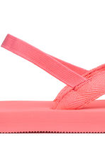 Tongs - Rose corail - ENFANT | H&M FR 3