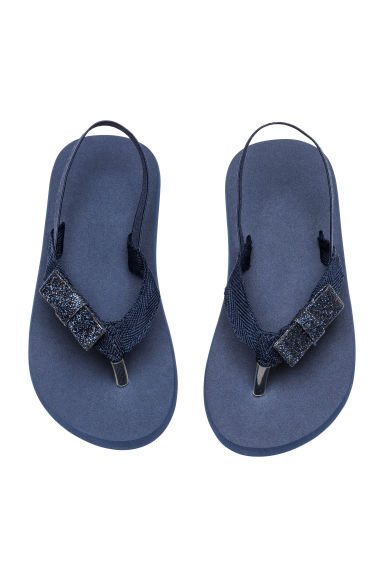 Flip-flops - Dark blue - Kids | H&M 1