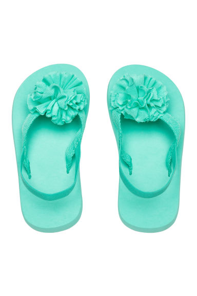 Flip-flops - Mint green - Kids | H&M 1