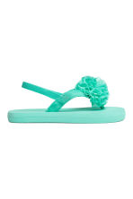 Flip-flops - Mint green - Kids | H&M 2