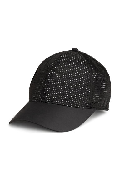 Reflective sports cap - Black - Ladies | H&M