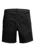 Long twill shorts - Black - Kids | H&M 3