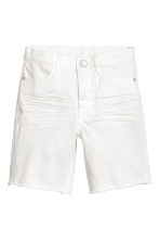Long twill shorts - White - Kids | H&M 2