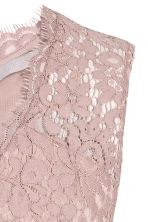 V-neck lace dress - Light pink - Ladies | H&M CN 3