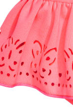 Swimsuit with frills - Neon pink -  | H&M CN 2