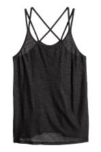 Sports top - Black - Ladies | H&M 2