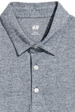 Polo shirt Slim Fit - Blue/Narrow striped - Men | H&M 3
