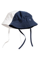 2-pack fisherman's hats - Dark blue - Kids | H&M CN 1