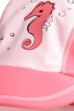UPF 50 遮陽鴨舌帽 - Light pink/Sea horse - Kids | H&M 2