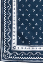 Patterned scarf - Dark blue/Anchor - Kids | H&M CN 3