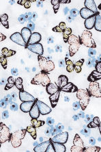 Patterned scarf - White/Butterflies - Kids | H&M 3