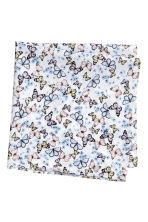 Patterned scarf - White/Butterflies - Kids | H&M 2