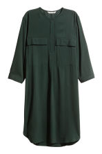 Short dress - Dark green - Ladies | H&M 2