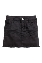 Twill skirt - Black -  | H&M CN 2