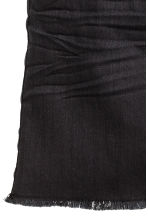 Twill skirt - Black -  | H&M CN 5