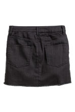 Twill skirt - Black -  | H&M CN 3