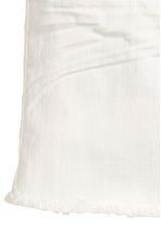 Twill skirt - White -  | H&M 3