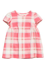 Jersey dress - Pink/Checked - Kids | H&M 1