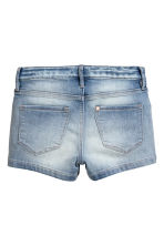 Short en jean - Bleu denim clair -  | H&M FR 3