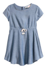Short-sleeved dress - Blue/Chambray - Kids | H&M CN 2