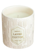 Candela profumata in vasetto - Bianco/Cotton - HOME | H&M IT 2
