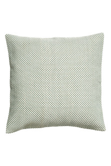 Braided cushion cover