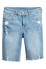 Shorts lunghi in jeans - Blu denim - DONNA | H&M IT 2