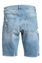 Long denim shorts - Denim blue - Ladies | H&M CA 3