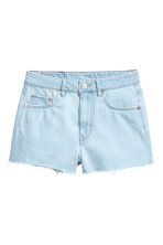 Denim shorts - Super light denim - Ladies | H&M 2