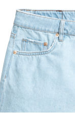 Denim shorts - Super light denim - Ladies | H&M 3