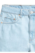Denim shorts - Super light denim - Ladies | H&M CN 2