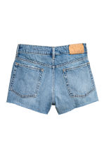 Denim shorts - Light denim blue - Ladies | H&M CN 3